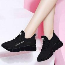 Casual Walking Shoes Lightweight Anti Slip Running Sport Sneakers For Women