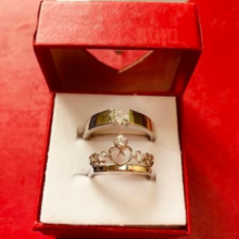 Luxury Design Propose/Couple/Gift & Love Finger Ring