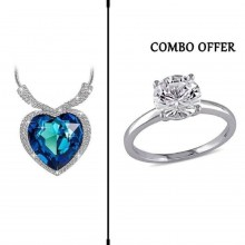 Combo of Necklace and Finger Ring for Women