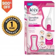 Veet Sensitive Touch Electric Trimmer for Women (1 Gadget + 7 Accessories)